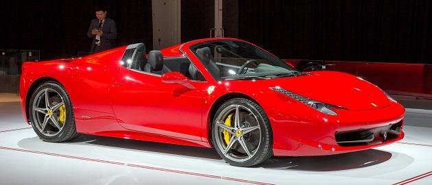 Przejażdżka Ferrari po torze