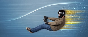 Tunel aerodynamiczny - lot